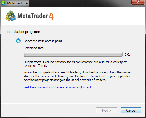 Metatrader-4-Installation