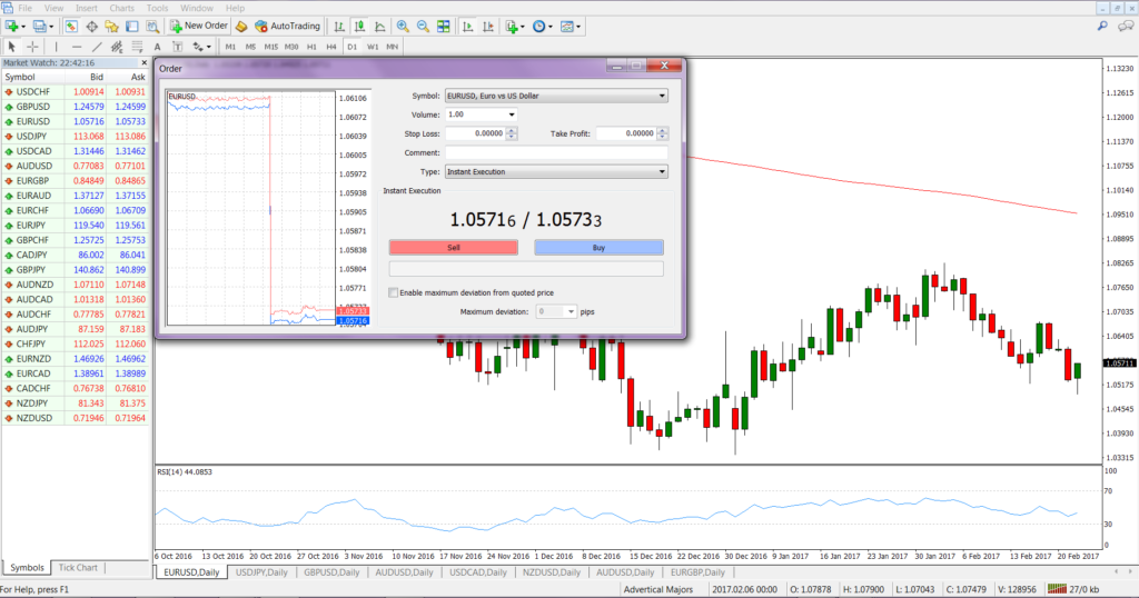Screenshot-of-MetaTrader-Showing-Bid-Ask-Spread-in-Dealing-Window